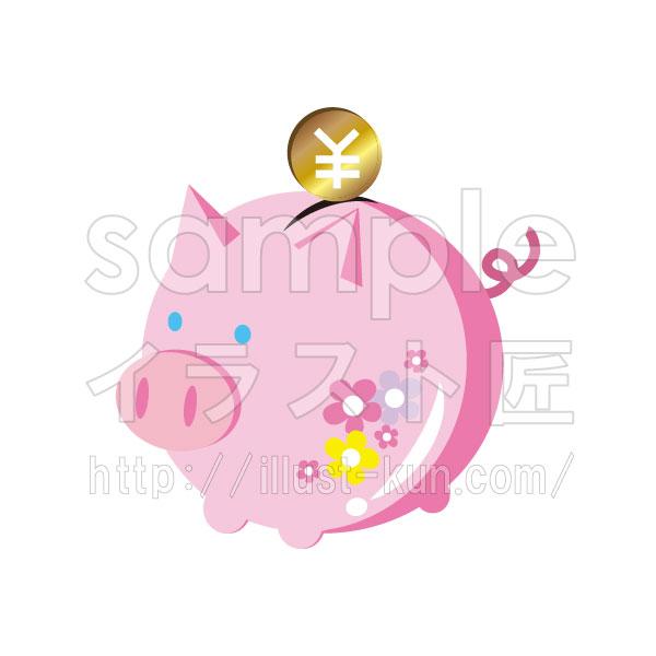 ミニブタの貯金箱