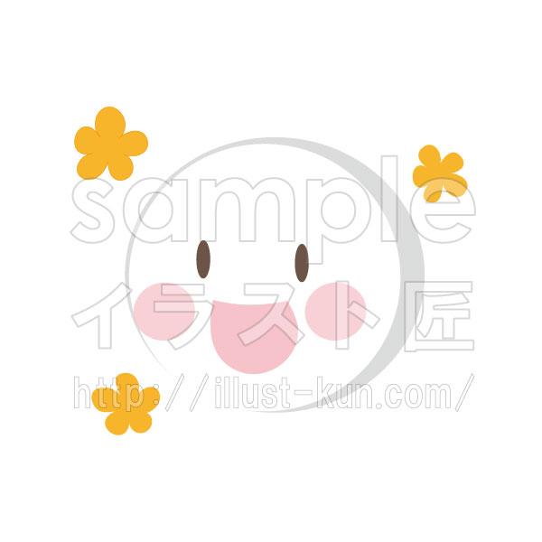 喜び 花 シンプル
